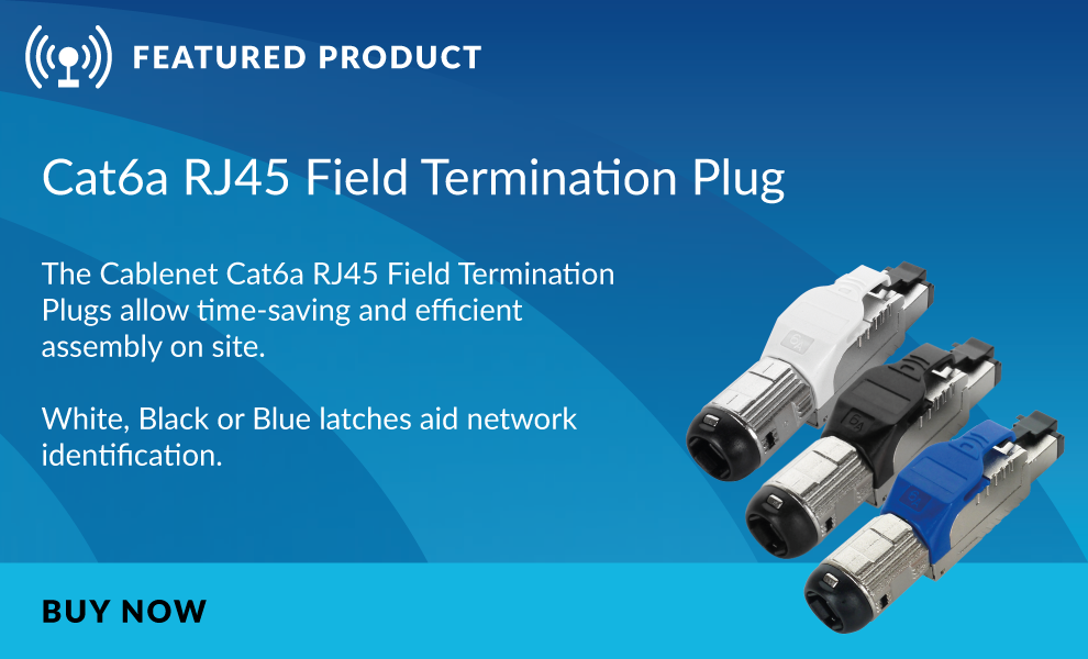 Cablenet Field Termination Plug