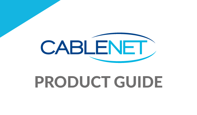 Cablenet Product Guide