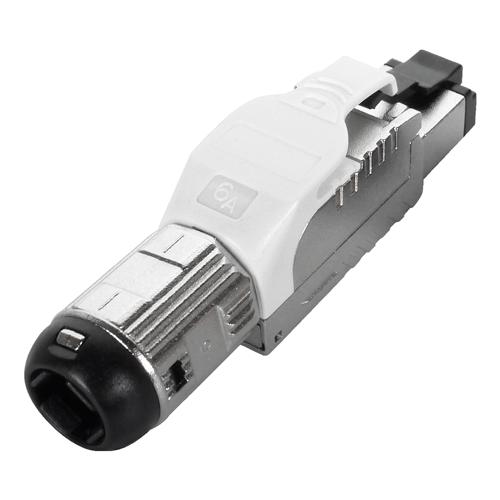 Cat6a RJ45 FTP Field Termination Plug