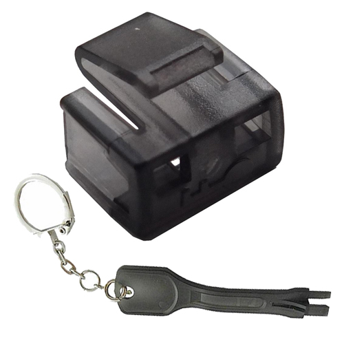 RJ45 Security Block + Tool Black (PK 25)