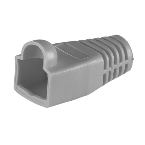 RJ45 Cat6a Boot Grey 6.5mm