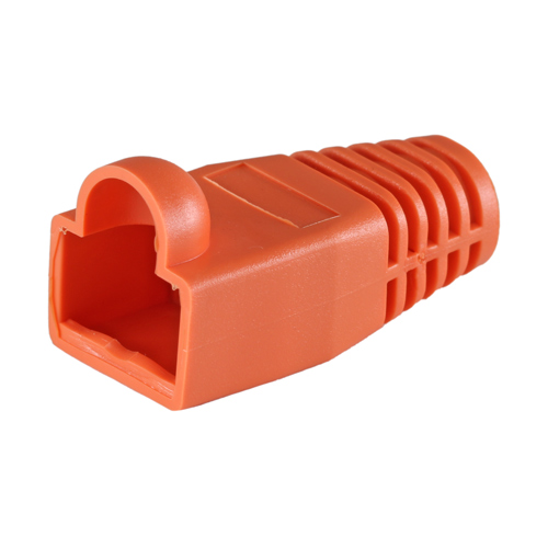 RJ45 Cat6a Boot Orange 6.5mm
