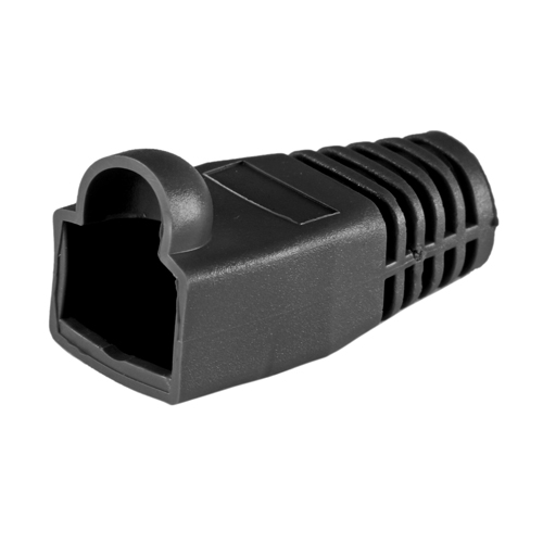 RJ45 Cat6a Boot Black 6.5mm