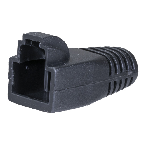 RJ45 Snagless Boot 8mm Black for use with 22-2096