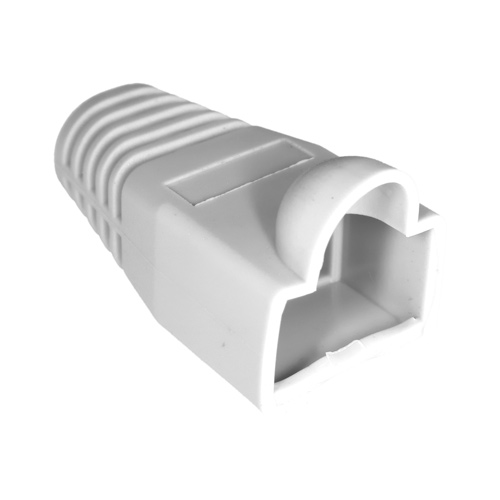 RJ45 Bubble Boot White 6mm