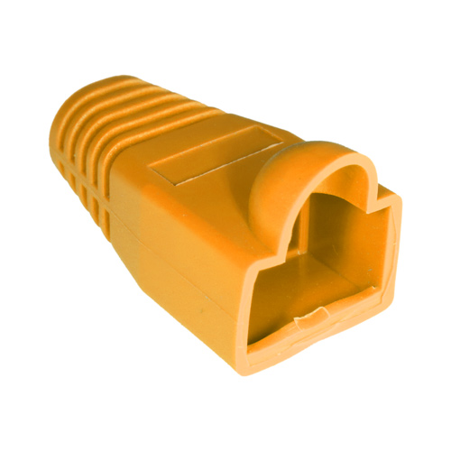 RJ45 Bubble Boot Orange 6mm