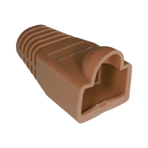 RJ45 Bubble Boot Brown 6mm