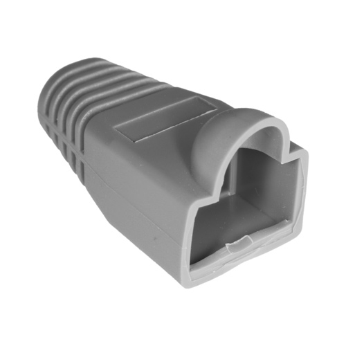 RJ45 Bubble Boot Grey 6mm