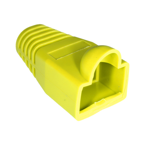 RJ45 Bubble Boot Yellow 6mm