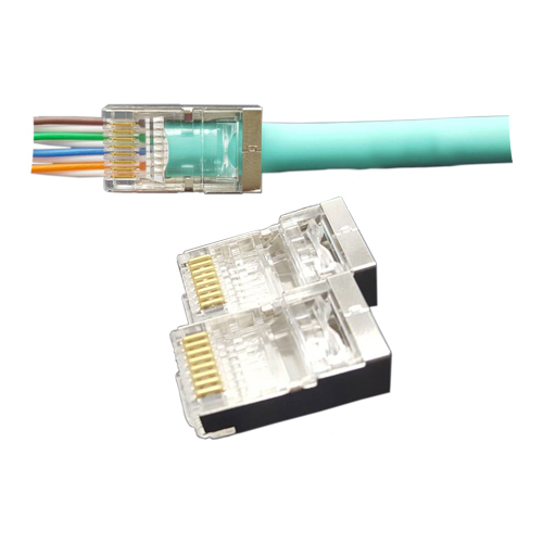 Cat6 RJ45 FTP EZ Easy Plug
