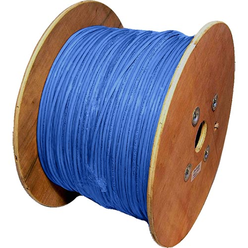 Cat6a Blue S/FTP LSOH 26AWG Stranded Patch Cable 500m Reel