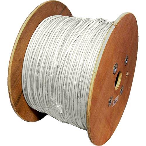 Cat5e White U/UTP PVC 24AWG Stranded Patch Cable 500m Reel
