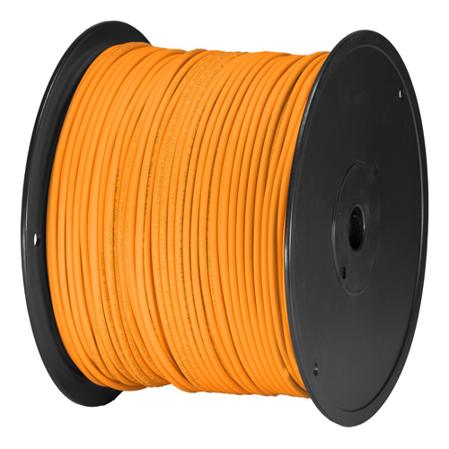 Cat5e Orange U/UTP PVC 24AWG Stranded Patch Cable 305m Box