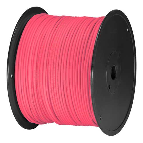 Cat5e Pink U/UTP PVC 24AWG Stranded Patch Cable 305m Box