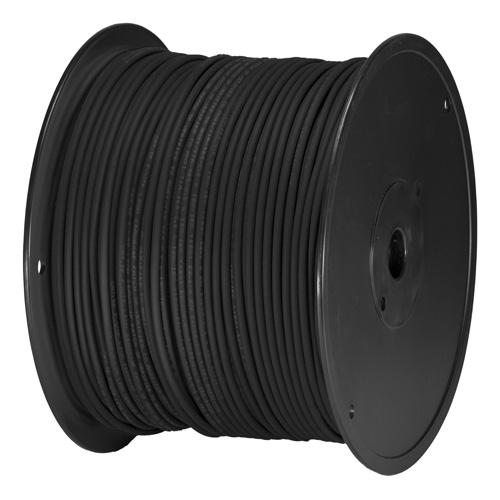 Cat5e Black U/UTP PVC 24AWG Stranded Patch Cable 305m Box