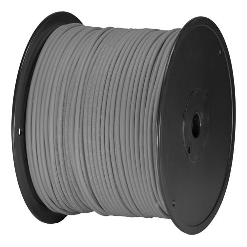 Cat5e Grey U/UTP PVC 24AWG Stranded Patch Cable 305m Box