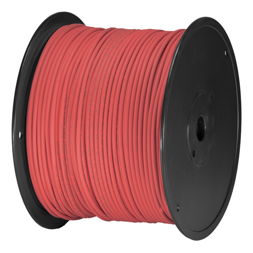 Cat5e Red U/UTP PVC 24AWG Stranded Patch Cable 305m Box