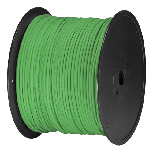 Cat5e Green U/UTP PVC 24AWG Stranded Patch Cable 305m Box