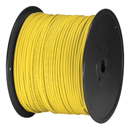 Cat5e Yellow U/UTP PVC 24AWG Stranded Patch Cable 305m Box