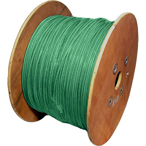 Cat5e Green U/UTP LSOH 24AWG Stranded Patch Cable 500m Reel