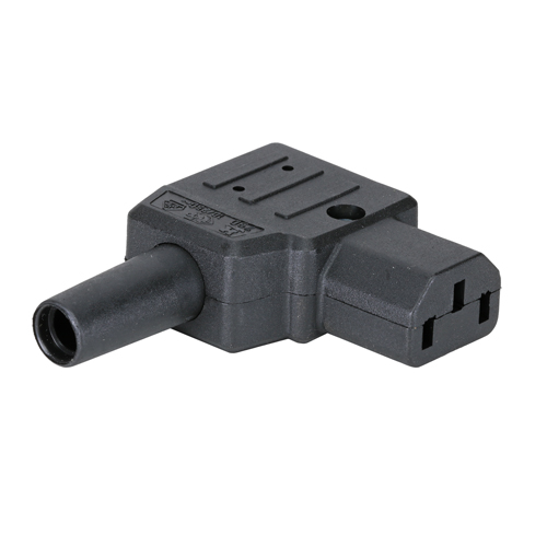 C13 Right Angle (10Amp) Power Connector (Screw)