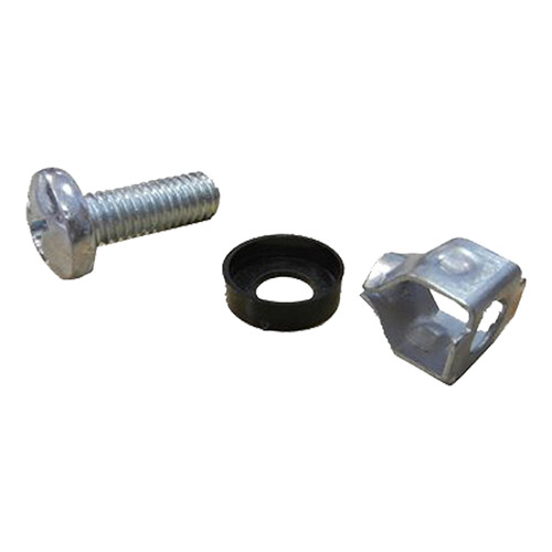 Fast Fit Cage Nuts & Screws M6 Silver (PK 100)