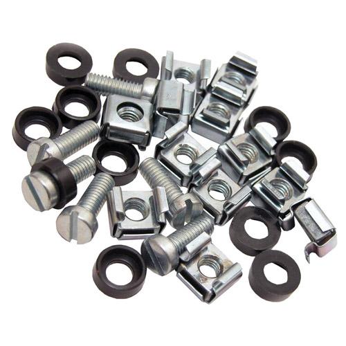 Cage Nuts & Screws M6 Silver (PK 50)