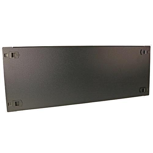 4u 19inch Toolless Blanking Panel Black