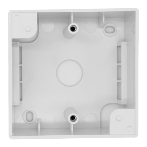 Single Gang PVC Back Box 32mm