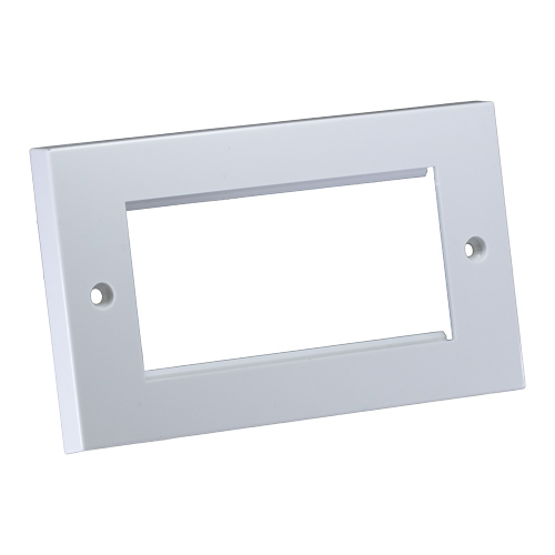 Flush Double Gang Faceplate 146mm x 86mm