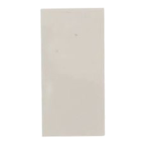 Half Blank 25mm x 50mm White