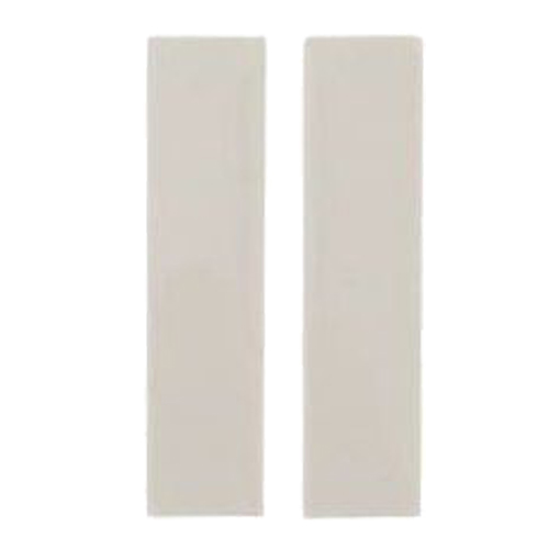 Quarter Blank 12.5mm x 50mm White (PK 2)