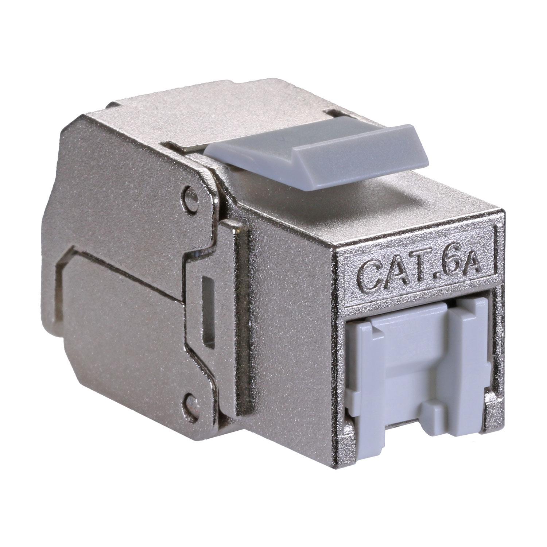 Cat6a Shielded Pack of 24 Keystone Jack PoE++