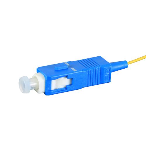1m OS2 9/125 SC Yellow Fibre Pigtail 900um