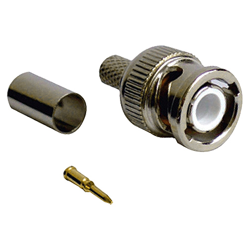 BNC Crimp Plug RG58CU Turned