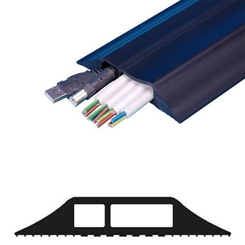 Comnet 3 Metre (16mm x 12mm + 32mm x 12mm) Black