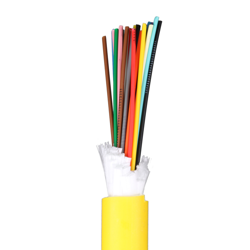 12 Core OS2 9/125 Tight Buffered Internal/External CPR Eca Yellow LSOH Fibre Cable