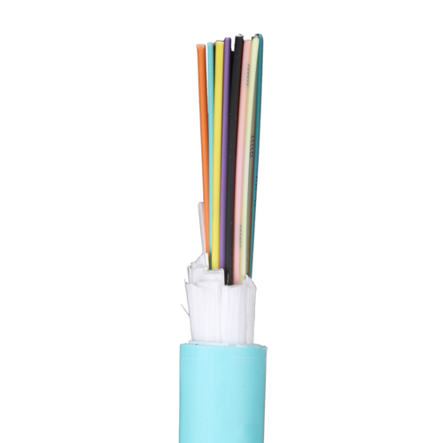 12 Core OM4 50/125 Tight Buffered CPR Eca Aqua LSOH Fibre Cable