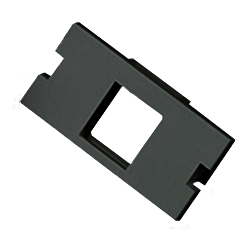 1 Port Keystone Housing (25mm x 50mm) Black