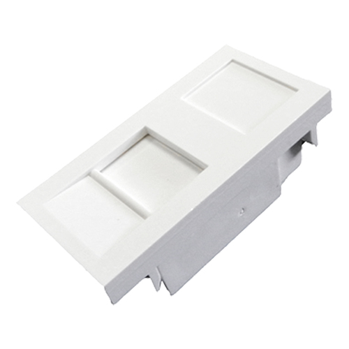 1 Port Keystone Shutter Housing (25mm x 50mm)