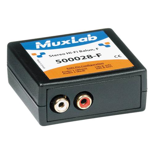 Muxlab Stereo HI FI Balun (RCA) Female