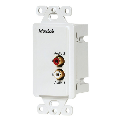 Muxlab Stereo HI-FI Wall Plate Balun US