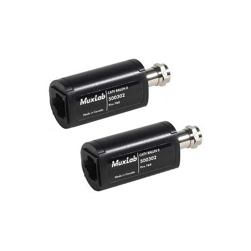 Muxlab CATV Balun II (2pk)