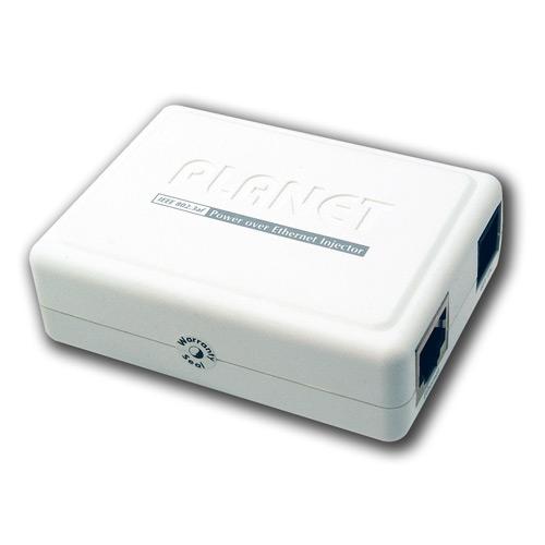 PoE Injector IEEE802.3af End-Span for Gigabit Ethernet