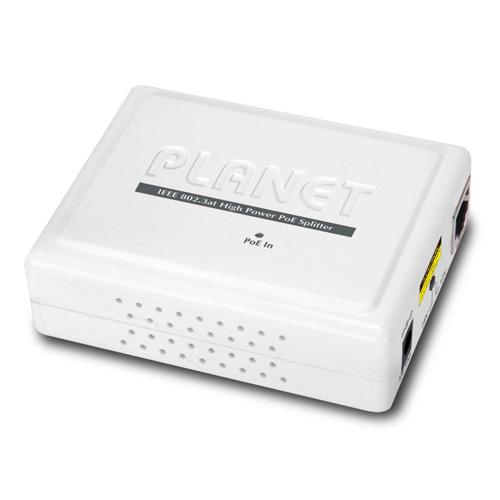 High Power PoE Splitter IEEE802.3at (12/24v)