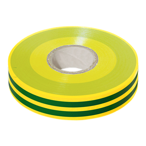PVC Insulation Tape 19mm x 33mtr Green/Yellow