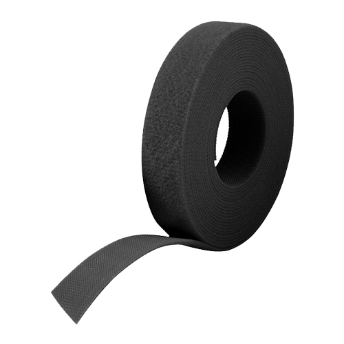 25m Reel x 10mm FRT VELCRO® Brand ONE-WRAP® Tape Black