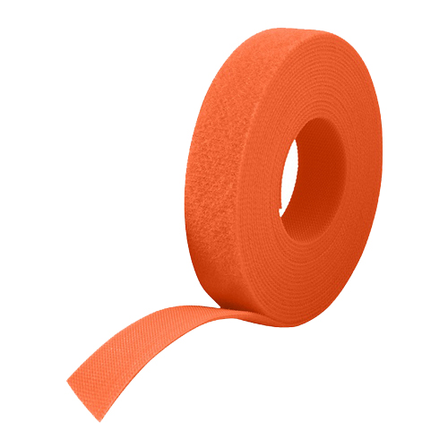 25m Reel x 10mm VELCRO® Brand ONE-WRAP® Tape Orange